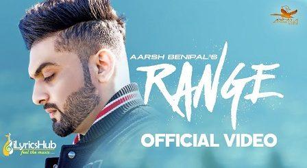 Range Lyrics Aarsh Benipal