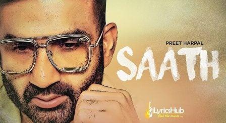 Saath Lyrics Preet Harpal