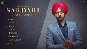 Sardari Lyrics Satbir Aujla (Title Song)