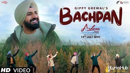 Bachpan Lyrics Gippy Grewal | Ardaas Karaan