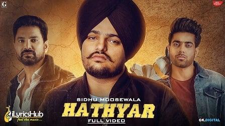 Hathyar Lyrics Sidhu Moose Wala | Sikander 2
