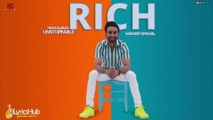 Rich Lyrics Hardeep Grewal