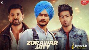 Zorawar Jatt Lyrics Himmat Sandhu