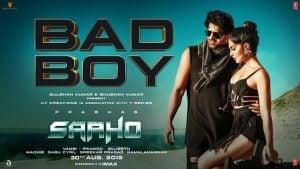 Bad Boy Lyrics Saaho | Badshah, Neeti Mohan