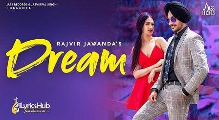 Dream Lyrics Rajvir Jawanda