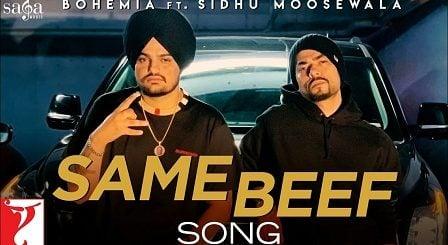 Same Beef Lyrics Bohemia | Sidhu Moose Wala