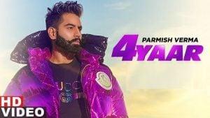 4 Yaar Lyrics Parmish Verma