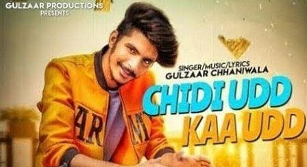 Chidi Udd Kaa Udd Lyrics Gulzaar Chhaniwala
