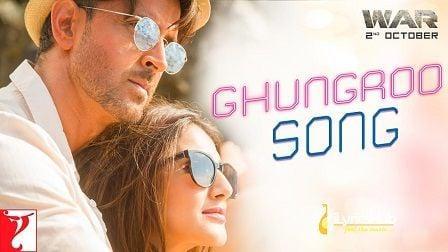 Ghungroo Lyrics War | Arijit Singh, Shilpa Rao