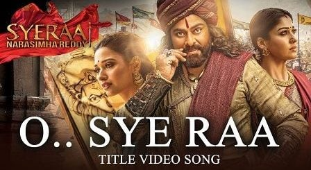 Sye Raa Title Song Lyrics Hindi | Chiranjeevi