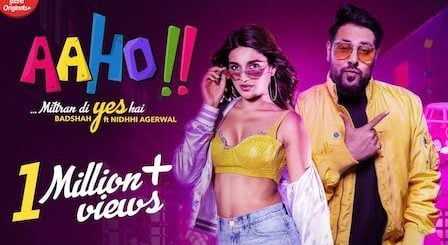 Aaho Mittran Di Yes Hai Lyrics Badshah