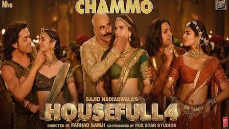 Chammo Lyrics Housefull 4 | Sohail Sen