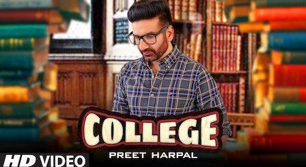 College Lyrics Preet Harpal