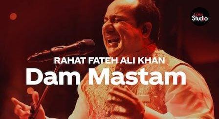 Dam Mastam Lyrics Rahat Fateh Ali Khan | Coke Studio