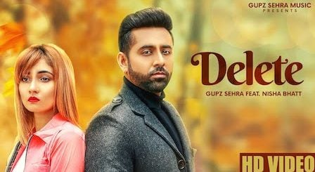 Delete Lyrics Gupz Sehra