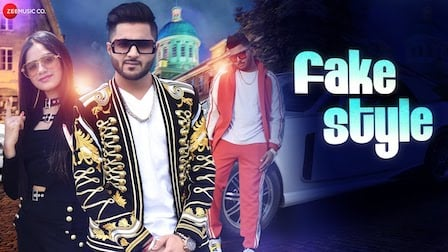 Fake Style Lyrics Raman Kapoor | Jannat Zubair