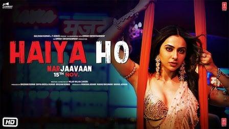 Haiya Ho Lyrics Marjaavaan | Tulsi Kumar, Jubin Nautiyal