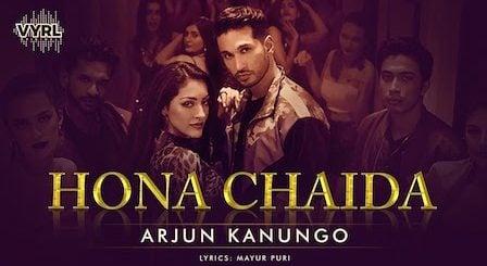 Hona Chaida Lyrics Arjun Kanungo