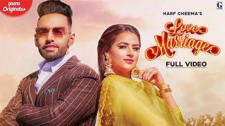 Love Marriage Lyrics Harf Cheema x Gurlez Akhtar