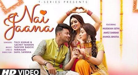 Nai Jaana Lyrics Tulsi Kumar x Sachet Tandon