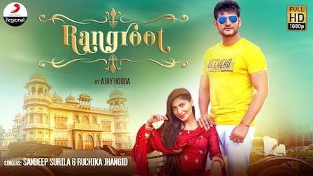 Rangroot Lyrics Ajay Hooda   Ruchika Jangid