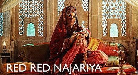 Red Red Najariya Lyrics Lal Kaptaan