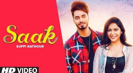 Saak Lyrics Suffi Rathour