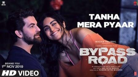 Tanha Mera Pyaar Lyrics Bypass Road