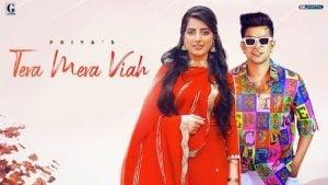 Tera Mera Viah Lyrics Priya | Jass Manak