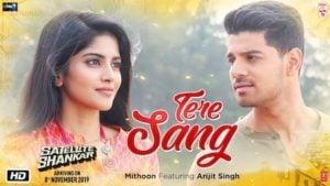 Tere Sang Lyrics Satellite Shankar   Arijit Singh