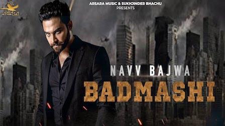 Badmashi Lyrics Navv Bajwa
