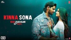 Kinna Sona Lyrics Marjaavaan   Jubin Nautiyal