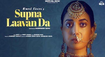 Supna Laavan Da Lyrics Nimrat Khaira