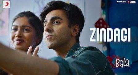 Zindagi Lyrics Bala | Papon x Sachin-Jigar