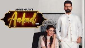 Aakad Lyrics Amrit Maan