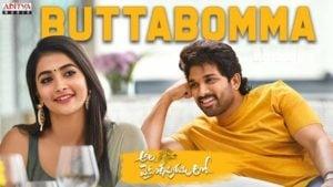 Buttabomma Lyrics Ala Vaikunthapurramuloo | Armaan Malik