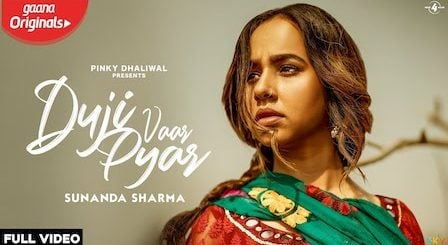 Duji Vaar Pyar Lyrics Sunanda Sharma