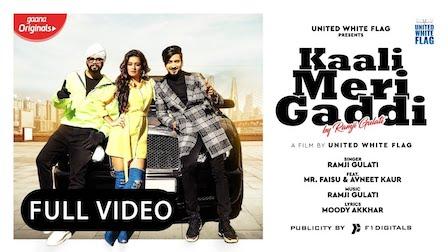Kaali Meri Gaddi Lyrics Ramji Gulati | Mr Faisu, Avneet Kaur