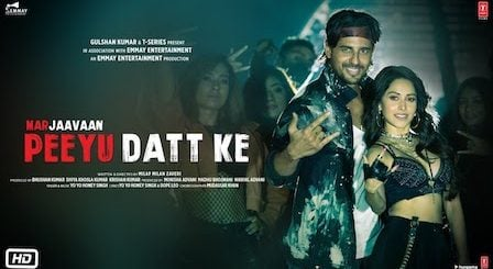 Peeyu Datt Ke Lyrics Marjaavaan | Yo Yo Honey Singh