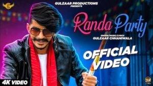 Randa Party Lyrics Gulzaar Chhaniwala