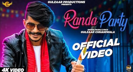 Randa Party Lyrics Gulzaar Chhaniwala
