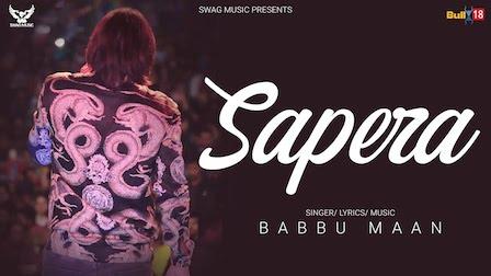 Sapera Lyrics Babbu Maan