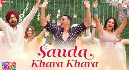 Sauda Khara Khara Lyrics Good Newwz