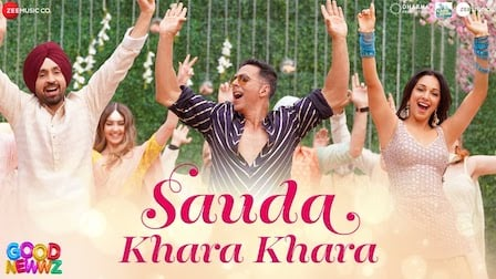 Sauda Khara Khara Lyrics Good Newwz