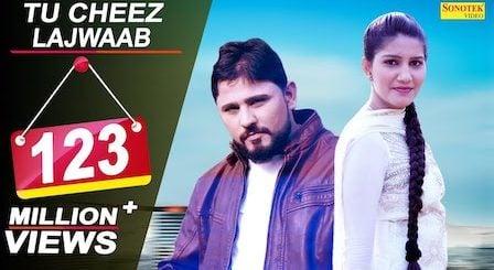 Tu Cheez Lajwaab Lyrics Raju Punjabi   Sapna Chaudhary