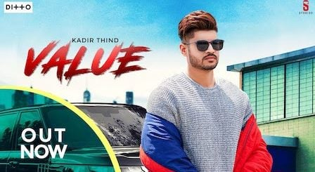 Value Lyrics Kadir Thind