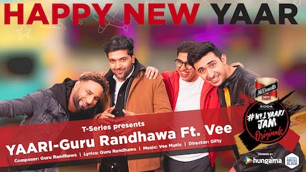 Yaari Lyrics Guru Randhawa | Happy New Yaar