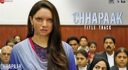 Chhapaak Lyrics Arijit Singh | Title Track
