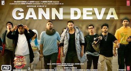 Gann Deva Lyrics Street Dancer 3D