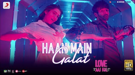 Haan Main Galat Lyrics Love Aaj Kal | Arijit Singh